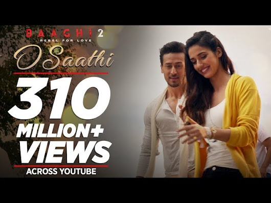 Free O Saathi Full Song Baaghi 2 Tiger Shroff Disha Patani Arko Ahmed Khan Sajid Nadiadwala Mp3 Download [2.03 MB] | India World Music