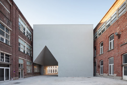 Architecture Faculty in Tournai by Aires Mateus e Associados | Universities