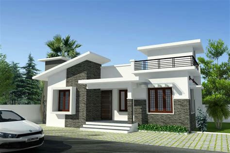 cute   budget  bedroom kerala house plan