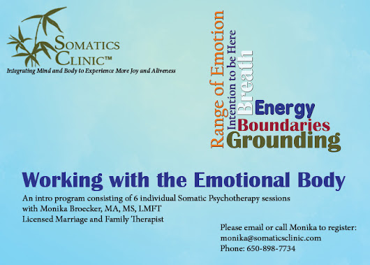 Working with the Emotional Body-An Introduction into Analytic Somatic Therapy™/the Bioenergetic Perspective with Monika Broecker - Center For Personal Growth