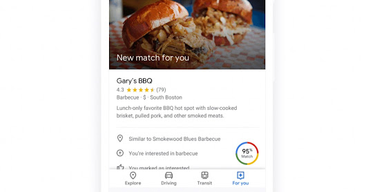 Google Maps Makes it Easier to Find Restaurants and Bars - Search Engine Journal