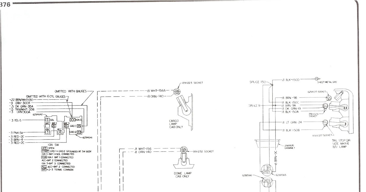 77 C 10 Wiring Diagram