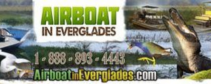 Contact Airboat In Everglades - by phone or Email 24 hours a day.