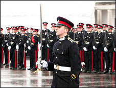 Cadet Officer with Sword