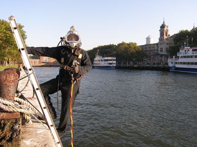 Throwback Thursday - A Special Diving Experience at Ellis Island