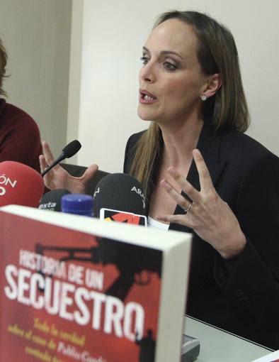 """CARMEN CORDON PRESENTA LIBRO SOBRE SU PADRECarmen Cordón publica 'Historia de un secuestro', """"la veradad"""" de lo ocurrido"""