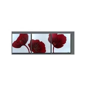 Pas cher tableau fleur coquelicot magasin fleur - Acheter tableau pas cher ...