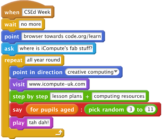 The Hour of Code 2017 is here! - iCompute
