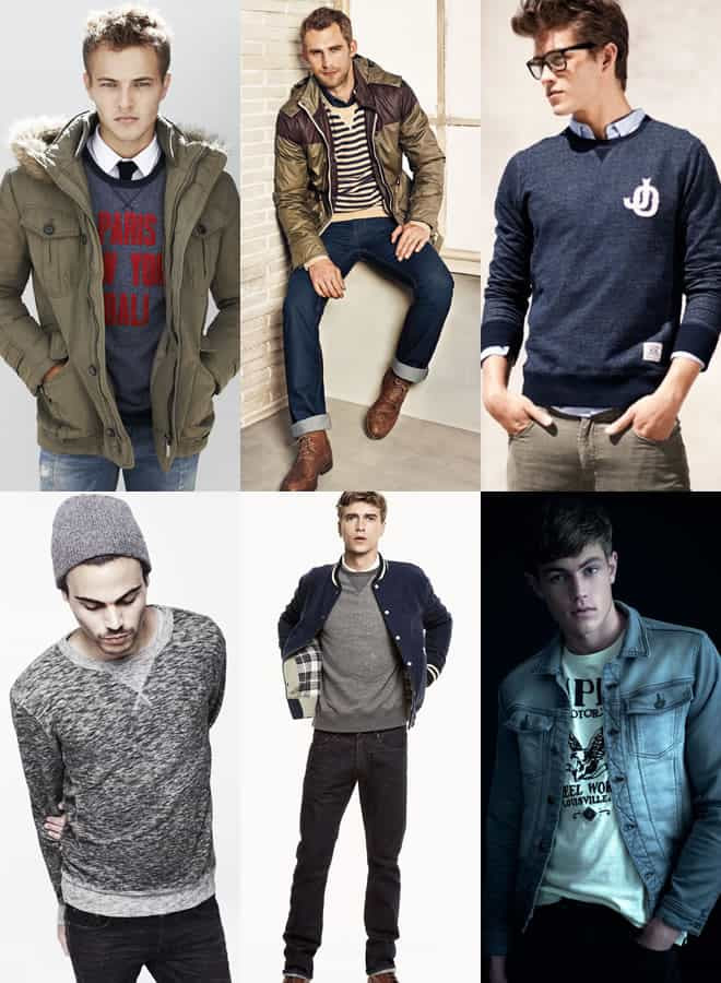 Men's Sweatshirts Lookbook