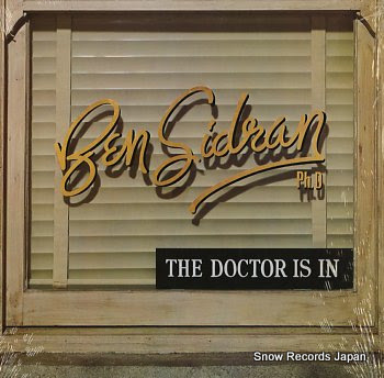 SIDRAN, BEN doctor is in, the