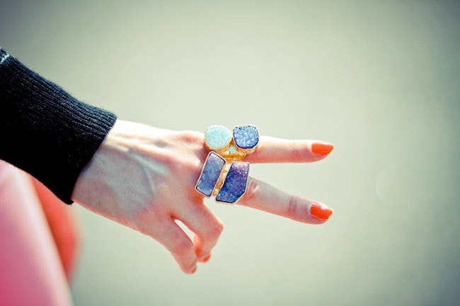 Chunky Fashion Rings, Oversize Cocktail Rings, Beso Beso Jewelry