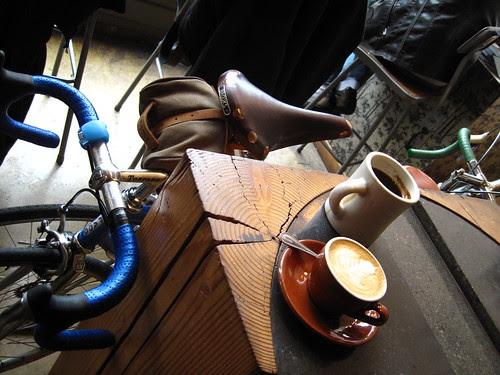 Caffeination station.