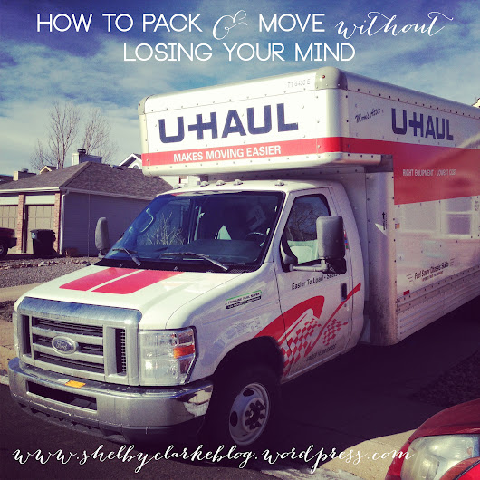 How to Move without losing your Mind: Preparing to Move