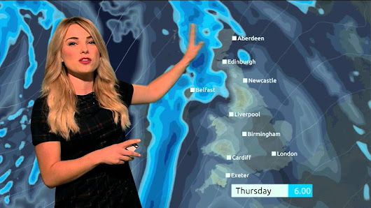 UK Reporter Cleverly Works in 12 Star Wars Puns During a 40 Second Weather Update