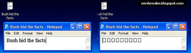 Bush hid the facts1