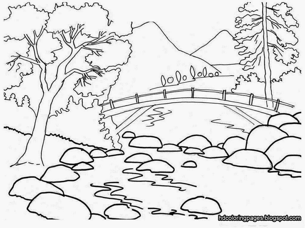 Garden Drawing For Kid At Getdrawingscom Free For Personal Use
