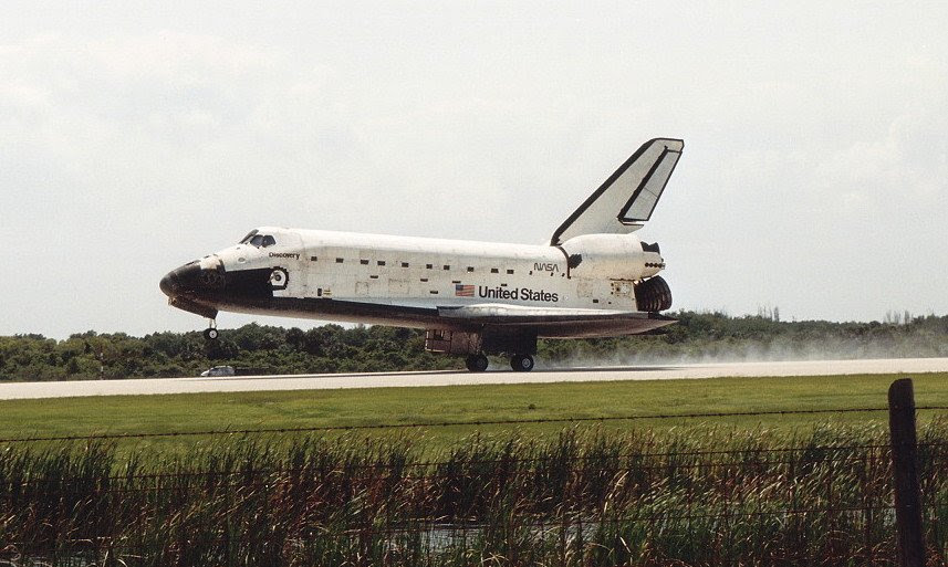 May06-1991-STS39landing