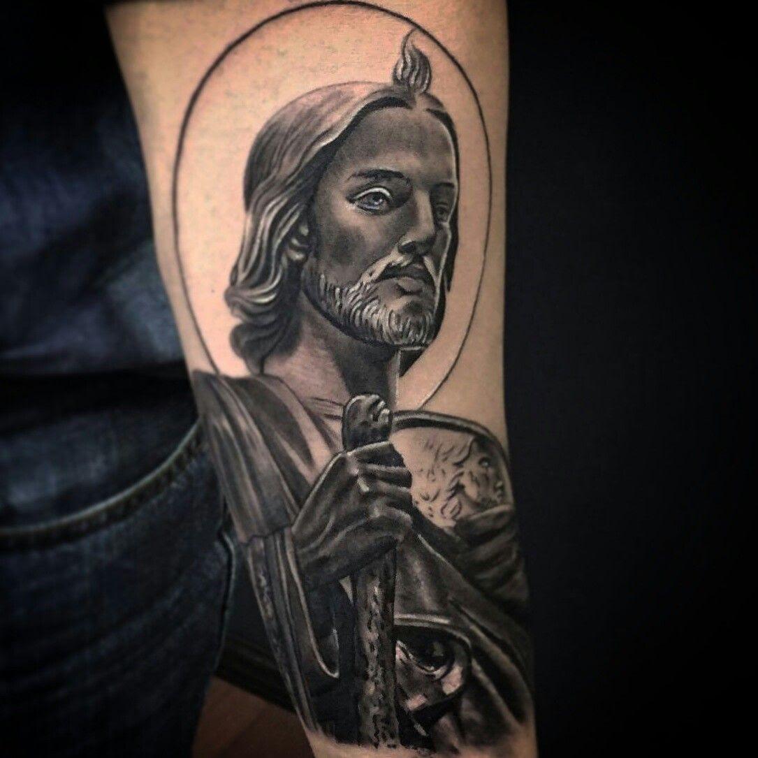 San Judas Tadeo Tatuaje