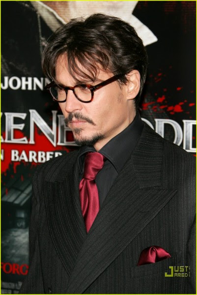 37 O estilo de Johnny Depp