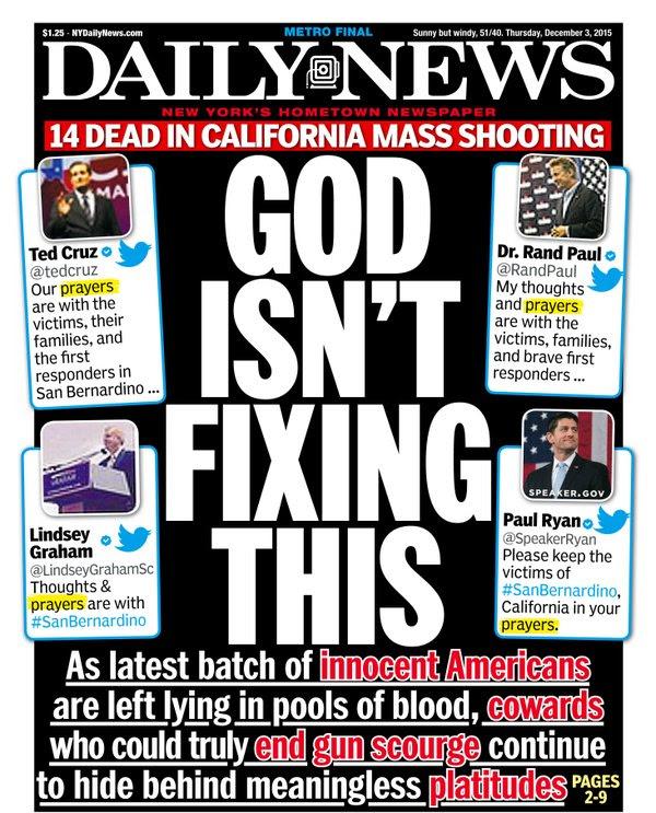The hypocrisy of 'prayer shaming' after San Bernardino - The ...