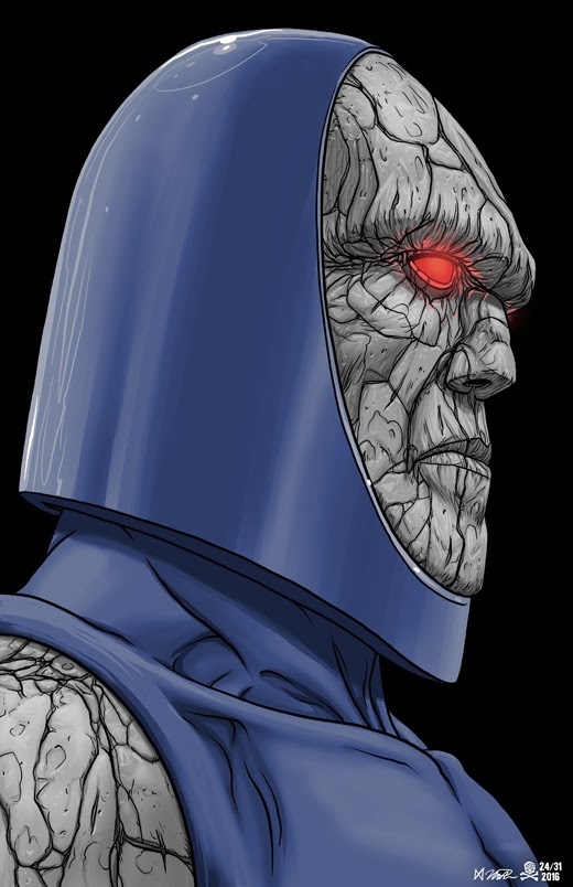 31 Days of Halloween 2016 Day 24: Darkseid