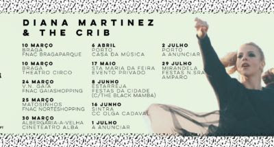 Diana Martinez & The Crib – novo single e datas de concertos