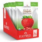 Simple Kitchen WS1178 6 CT Case Simple Kitchen Organic FD Strawberries