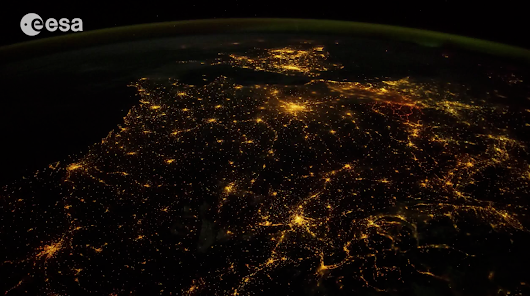 Timelapse: Earth from International Space Station