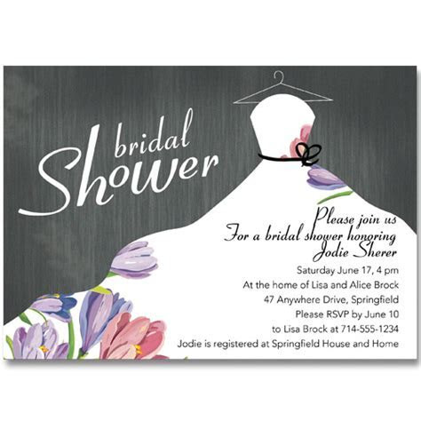 Bridal Shower Invitations At Elegant Wedding Invites