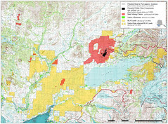 Map of Proposed Pebble Mine and Bristol Bay Mi...
