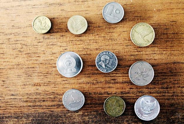 8. Магнитики с монетками из путешествий дети, поделки, своими руками, сделай сам, творчество