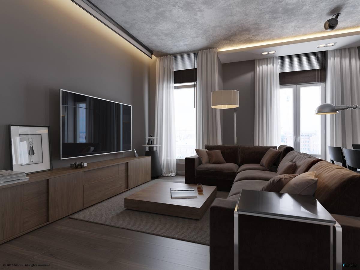 | 1 monochrome grey living roomInterior Design Ideas.