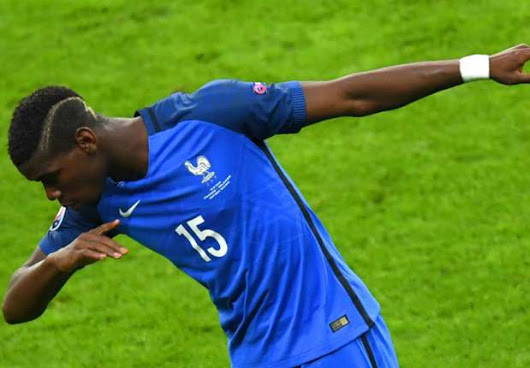 Paul Pogba's dab is now a maths problem