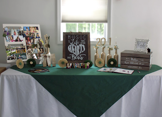 High School Graduation Party with a Musical Twist - SKO Designs