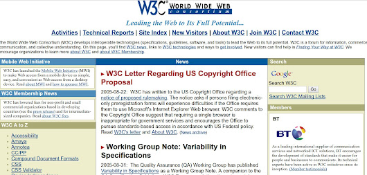 The W3C, DRM, and future of the open web