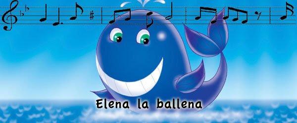 Canción Elena la Ballena