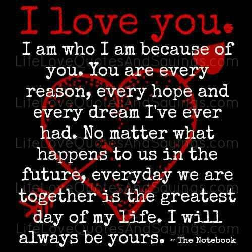 Romantic Love Quotes I Love You Quotes No Matter What