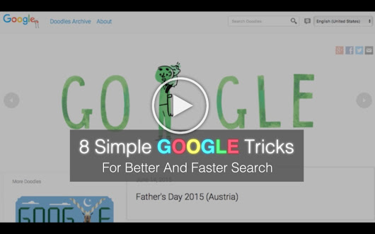 8 Simple Google Tricks You Need To Know