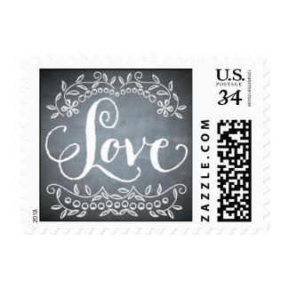 Chalkboard - Love Stamps