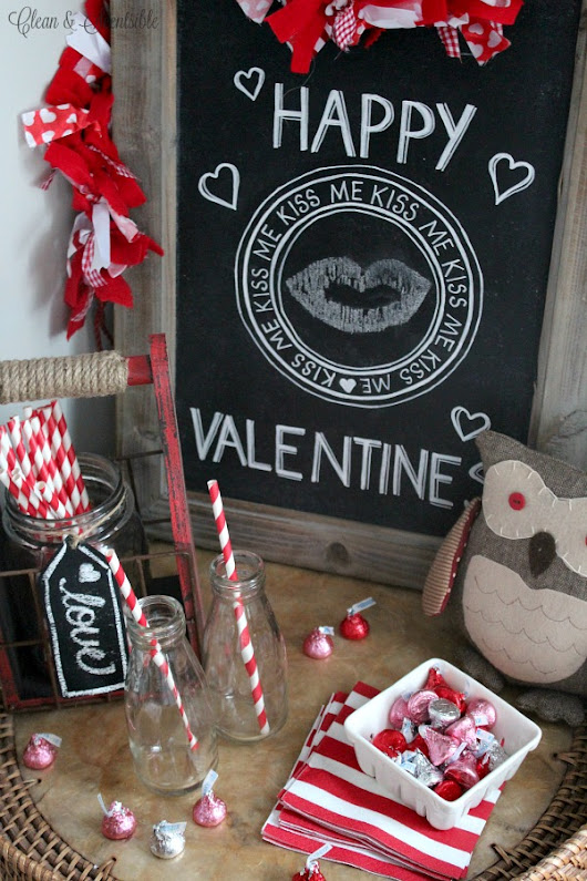How to Transfer An Image Onto Chalkboard - Clean and Scentsible