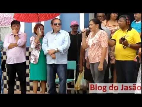 Vereadora e Kelly Cristine,parabeniza João Câmara,pelos 88 anos e faz agradecimento ao prefeito Vava e ao futuro prefeito Mauricio Caetano.