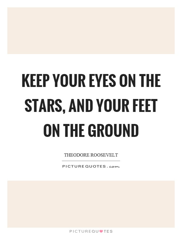 Feet On The Ground Quotes Sayings Feet On The Ground Picture Quotes
