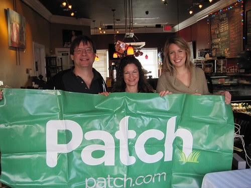 Patch meetup at Chloes Coffee Kentlands