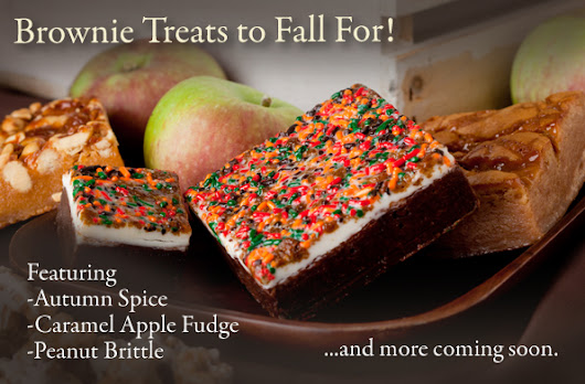 Brownie Treats to Fall For!