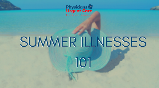 These Are The Most Common Summer Health Problems.