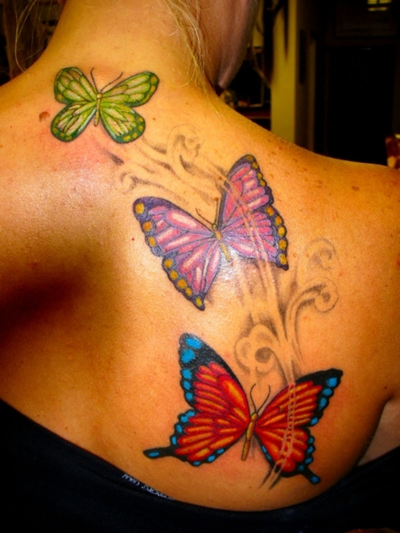 Hottest Upper Back Tattoos for Women - Ohh My My