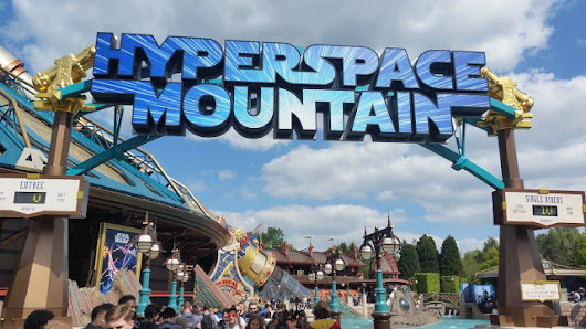 Hyper Space Mountain: l'abbiamo provato! | Disneyland Paris (Resort)
