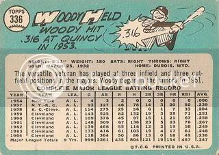 #336 Woody Held (back)