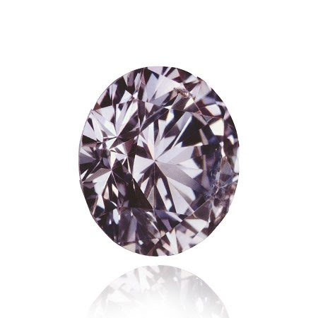 0.33 ct diamante Fancy Gris Violeta