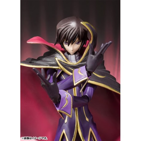 SH Figuarts Lelouch Lamperouge (Zero R2 Ver.) Code Geass: Lelouch of the Rebellion R2 - MYTHCLOTH.ES
